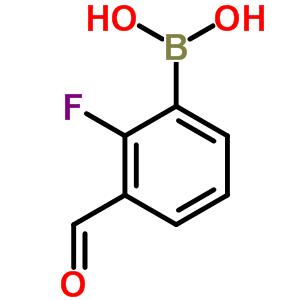 849061-98-9 (2-fluoro-3-formylphenyl)boronic acid