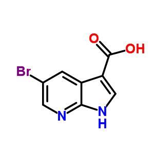 849068-61-7 5-bromo-1H-pyrrolo[5,4-b]pyridine-3-carboxylic acid