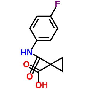 849217-48-7 1-[(4-Fluorophenyl)carbamoyl]cyclopropanecarboxylic acid