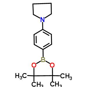 852227-90-8 1-[4-(4,4,5,5-tetramethyl-1,3,2-dioxaborolan-2-yl)phenyl]pyrrolidine