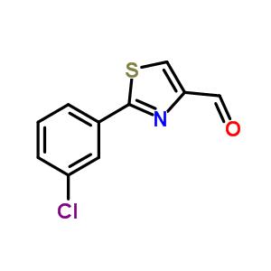 859850-99-0 2-(3-chlorophenyl)thiazole-4-carbaldehyde