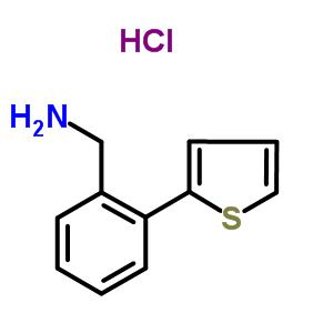 863991-95-1 1-(2-thiophen-2-ylphenyl)methanamine hydrochloride