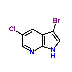 866546-09-0;869335-36-4 3-bromo-5-chloro-1H-pyrrolo[2,3-b]pyridine