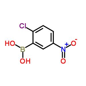 2-氯-5-硝基苯硼酸 867333-29-7