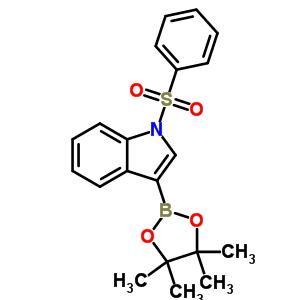 1-苯磺酰基吲哚-3-硼酸频哪醇酯