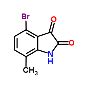 4-Bromo-7-methylisatin 874375-17-4