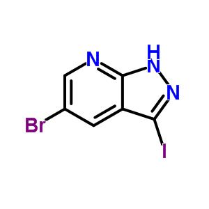875781-18-3 5-bromo-3-iodo-1H-pyrazolo[5,4-b]pyridine