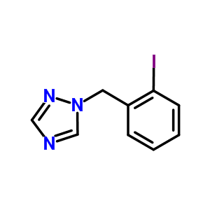 876316-31-3 1-(2-iodobenzyl)-1H-1,2,4-triazole