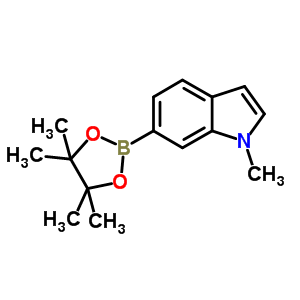 884507-19-1 1-methyl-6-(4,4,5,5-tetramethyl-1,3,2-dioxaborolan-2-yl)-1H-indole