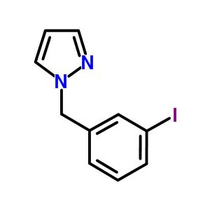 884507-56-6 1-(3-iodobenzyl)-1H-pyrazole