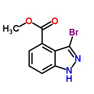 3-溴-吲唑-4-甲酸甲酯 885271-63-6