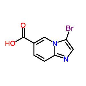 3-溴咪唑并[1,2-α]吡啶-6-甲酸 886362-00-1