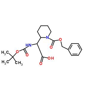 3-Boc-氨基-3-(2'-Cbz-哌啶基)丙酸 886362-34-1