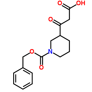 886362-40-9 3-(1-benzyloxycarbonyl-3-piperidyl)-3-oxo-propanoic acid
