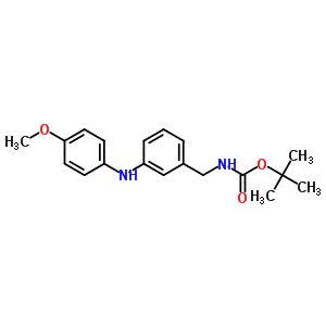 N-BOC-3(4-甲氧基苯胺基)苯乙胺 886362-41-0