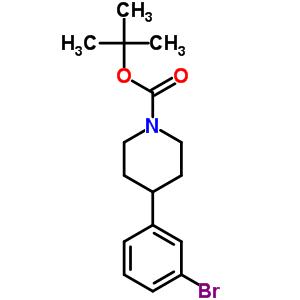 N-Boc-4-(3-溴苯基)哌啶 886362-62-5