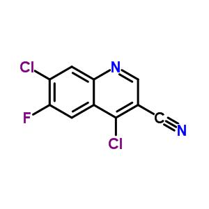 4,7-二氯-6-氟-喹啉-3-甲腈 886362-74-9