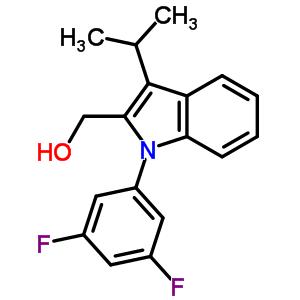 886362-94-3 [1-(3,5-difluorophenyl)-3-isopropyl-indol-2-yl]methanol