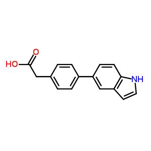 886363-28-6 2-[4-(1H-indol-5-yl)phenyl]acetic acid