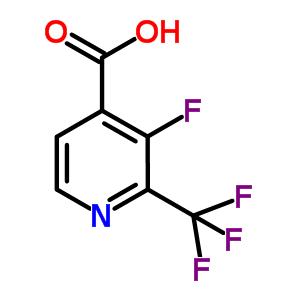 886510-09-4 3-fluoro-2-(trifluoromethyl)pyridine-4-carboxylic acid
