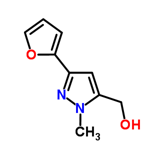 886851-33-8 (3-furan-2-yl-1-methyl-1H-pyrazol-5-yl)methanol