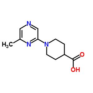 886851-58-7 1-(6-methylpyrazin-2-yl)piperidine-4-carboxylic acid