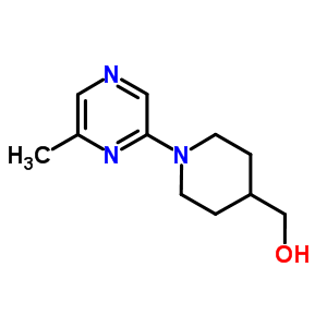 886851-59-8 [1-(6-methylpyrazin-2-yl)piperidin-4-yl]methanol