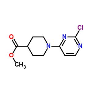 889126-33-4 methyl 1-(2-chloropyrimidin-4-yl)piperidine-4-carboxylate