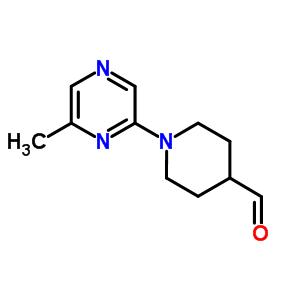 906352-82-7 1-(6-methylpyrazin-2-yl)piperidine-4-carbaldehyde