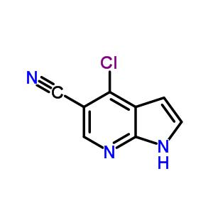 4-氯-1H-吡咯并[2,3-B]吡啶-5-甲腈 920966-02-5