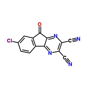 7-氯-9-氧代-9H-茚并[1,2-b]吡嗪-2,3-二甲腈 924296-39-9