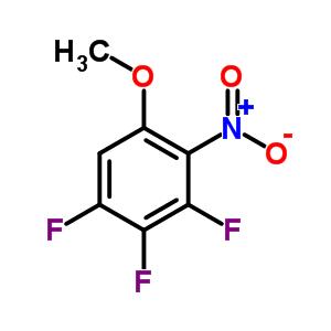 2-硝基-3,4,5-三氟苯甲醚 925890-13-7