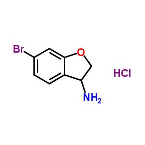944709-63-1 6-bromo-2,3-dihydrobenzofuran-3-amine hydrochloride