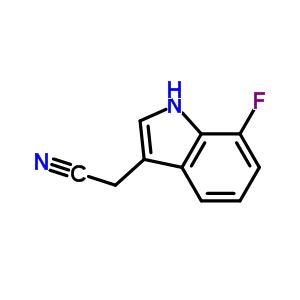 959236-14-7 7-Fluoroindole-3-acetonitrile