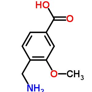 96053-20-2 4-(aminomethyl)-3-methoxybenzoic acid