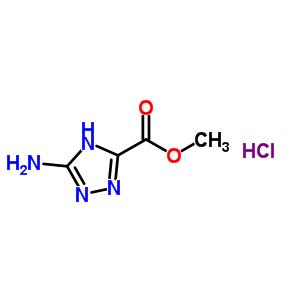 5-氨基-1H-1,2,4-三氮唑-3-甲酸甲酯盐酸盐 142782-22-7