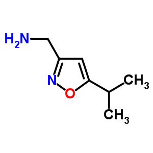 154016-49-6 (5-isopropylisoxazol-3-yl)methanamine
