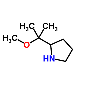 160142-25-6 2-(2-Methoxypropan-2-yl)pyrrolidine