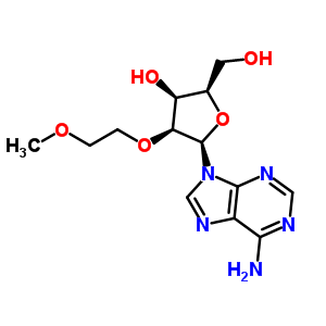 168427-74-5 (2R,3S,4S,5R)-5-(6-aminopurin-9-yl)-2-(hydroxymethyl)-4-(2-methoxyethoxy)tetrahydrofuran-3-ol