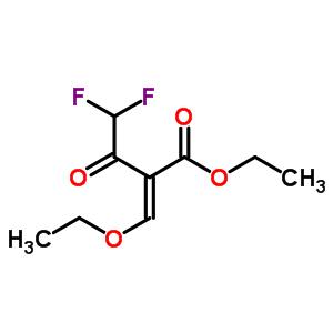 2-乙氧基亚甲基-4,4-二氟乙酰乙酸乙酯 176969-33-8