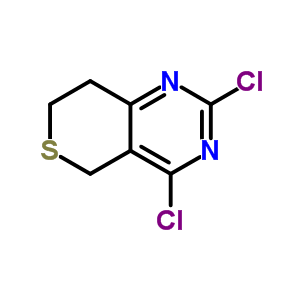 181374-43-6 2,4-dichloro-7,8-dihydro-5H-thiopyrano[4,3-d]pyrimidine