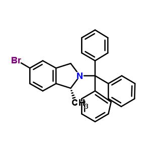 (1R)-5-溴-1-甲基-2-三苯甲基-2,3-二氢-1H-异吲哚 194805-14-6