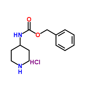 207296-89-7 benzyl N-(4-piperidyl)carbamate hydrochloride
