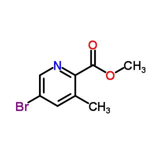 5-溴-3-甲基吡啶-2-甲酸甲酯 213771-32-5