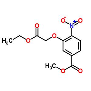 214848-28-9 methyl 3-(2-ethoxy-2-oxo-ethoxy)-4-nitro-benzoate