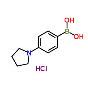 229009-41-0 (4-pyrrolidin-1-ylphenyl)boronic acid hydrochloride