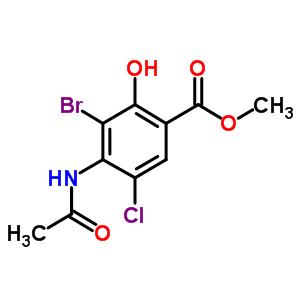 Molecular Structure 232941 14 9 Methyl 4 Acetamido 3 Bromo 5