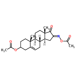 2439-98-7;216484-91-2 [(8R,9S,10R,13S,14S,16E)-16-acetoxyimino-10,13-dimethyl-17-oxo-2,3,4,7,8,9,11,12,14,15-decahydro-1H-cyclopenta[a]phenanthren-3-yl] acetate