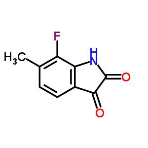 275374-94-2;1073262-83-5 7-fluoro-6-methyl-indoline-2,3-dione
