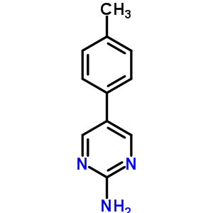 5-P-Tolylpyrimidin-2-Ylamine 31408-17-0
